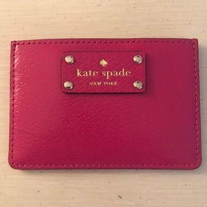 Kate Spade Wellesley Graham Card Holder Wallet